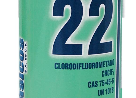 GAS REFRIGERANTE 22 1 KG GENETRON