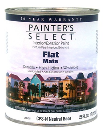 PINTURA INT/EXT MATE NEUTRAL 3.31 lts PAINTERS SELECT, MOD:130026
