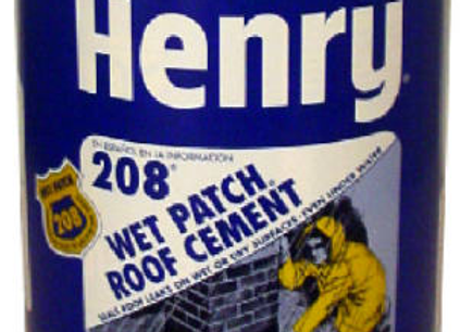 CEMENTO PLASTICO HENRY 208 LT