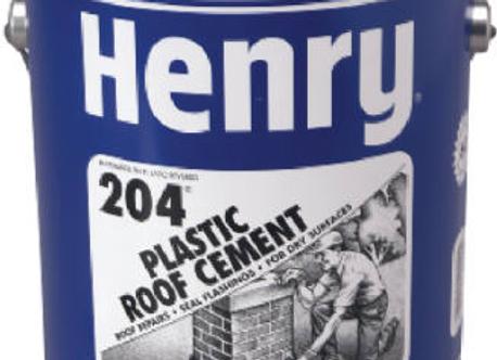 CEMENTO PLASTICO HENRY 204 GL