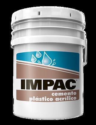 CEMENTO PLASTICO ACRILICO IMPAC BLANCO 19 LTS