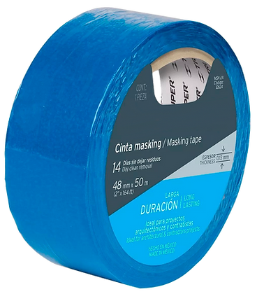 TAPE AZUL 2 48 MM X 50 MT, TRUPER