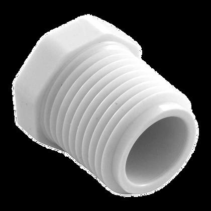 TAPON MACHO PVC CON ROSCA CED-40 1/2