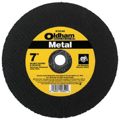 DISCO DE CORTE PARA METAL 7 X 1/8 760444