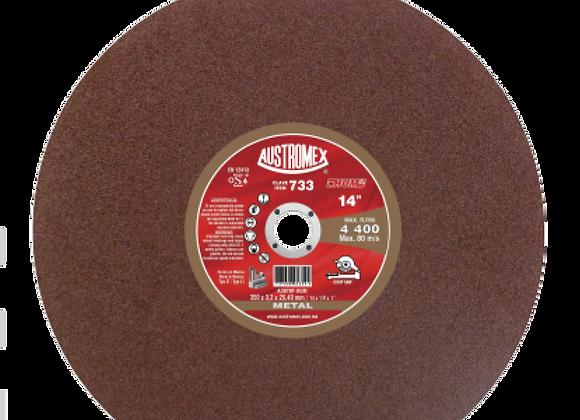 """DISCO DE CORTE DE METAL 14"""" AUSTROMEX No733"""