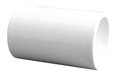 "COPLE PVC CED 40 3/4"""