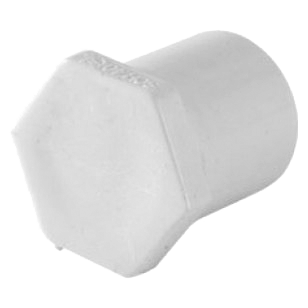 TAPON MACHO PVC 3/4 SIN ROSCA