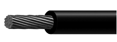 CABLE 8 NEGRO X MT