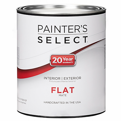 PINTURA INT/EXT MATE PASTEL .931 lts PAINTERS SELECT, MOD:202436
