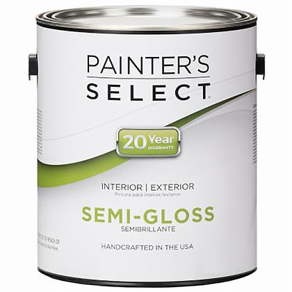 PINTURA INT/EXT SEMI-GLOSS PASTEL 3.72 lts PAINTERS SELECT, MOD:153843