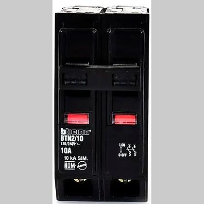 BREAKER BTICINO QO 30 AMP DOBLE, MOD: BTN2/30