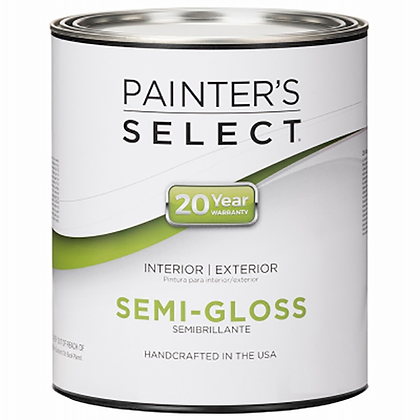 PINTURA INT/EXT SEMI-GLOSS NEUTRAL .827 lts PAINTERS SELECT, MOD:202432