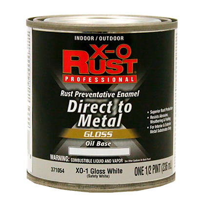 PRIMER METALES BASE ACEITE GLOSS WHITE .250 lts X-O RUST, MOD:371054