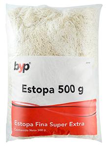 ESTOPA ALGODON BYP 500 GR