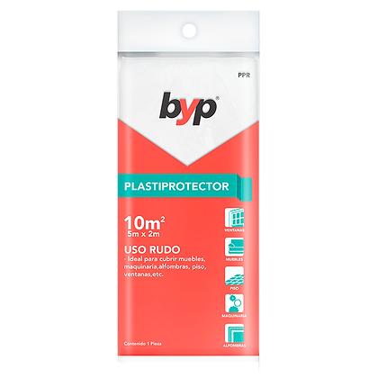 PLASTICO PROTECTOR, MARCA BYP 10M2 USO RUDO, MOD: PPR