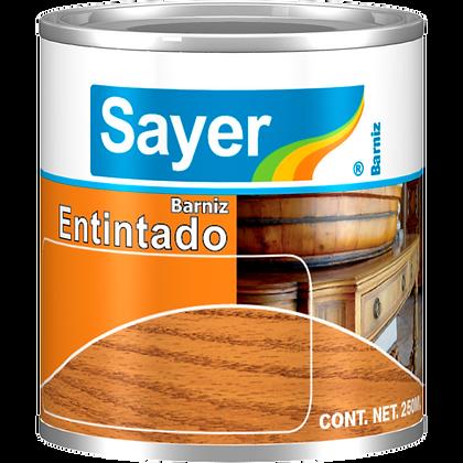 BARNIZ ENTINTADO CHOCOLATE SAYER LACK 1/4LT MOD:LT-0129.10
