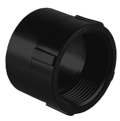 CONECTOR HEMBRA ABS 1-1/2