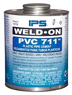 PEGAMENTO PVC TUBO12 No 711 1/2PT