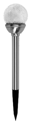 ESTACA SOLAR LUZ LED CAMBIO DE COLOR MOD:830-1356