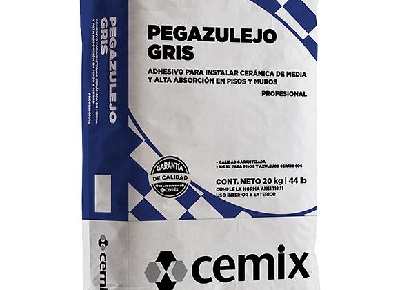CEMENTO PEGAAZULEJOS GRIS CEMIX SACO 20 KG