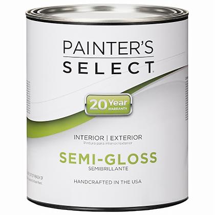 PINTURA INT/EXT SEMI-GLOSS DEEP .887 lts PAINTERS SELECT, MOD:202431