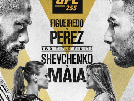 Back to Back FlyWeight Title fights make UFC 255 a potential classic