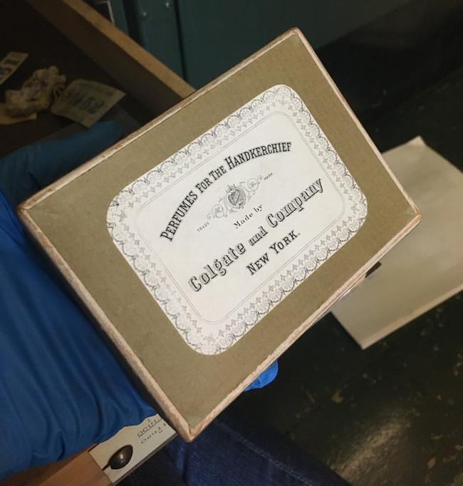 Old specimen boxes