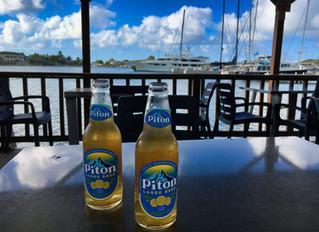 Martinique und zurück nach Saint Lucia.