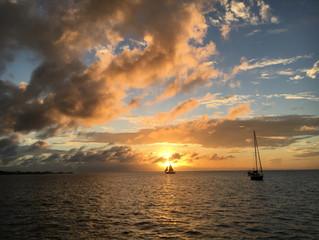 Wir sind wieder unterwegs. Von Grenada bis Martinique.