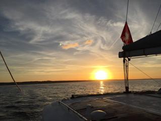 Woche 1 auf See