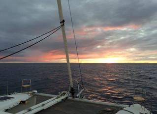 Woche 3 auf See