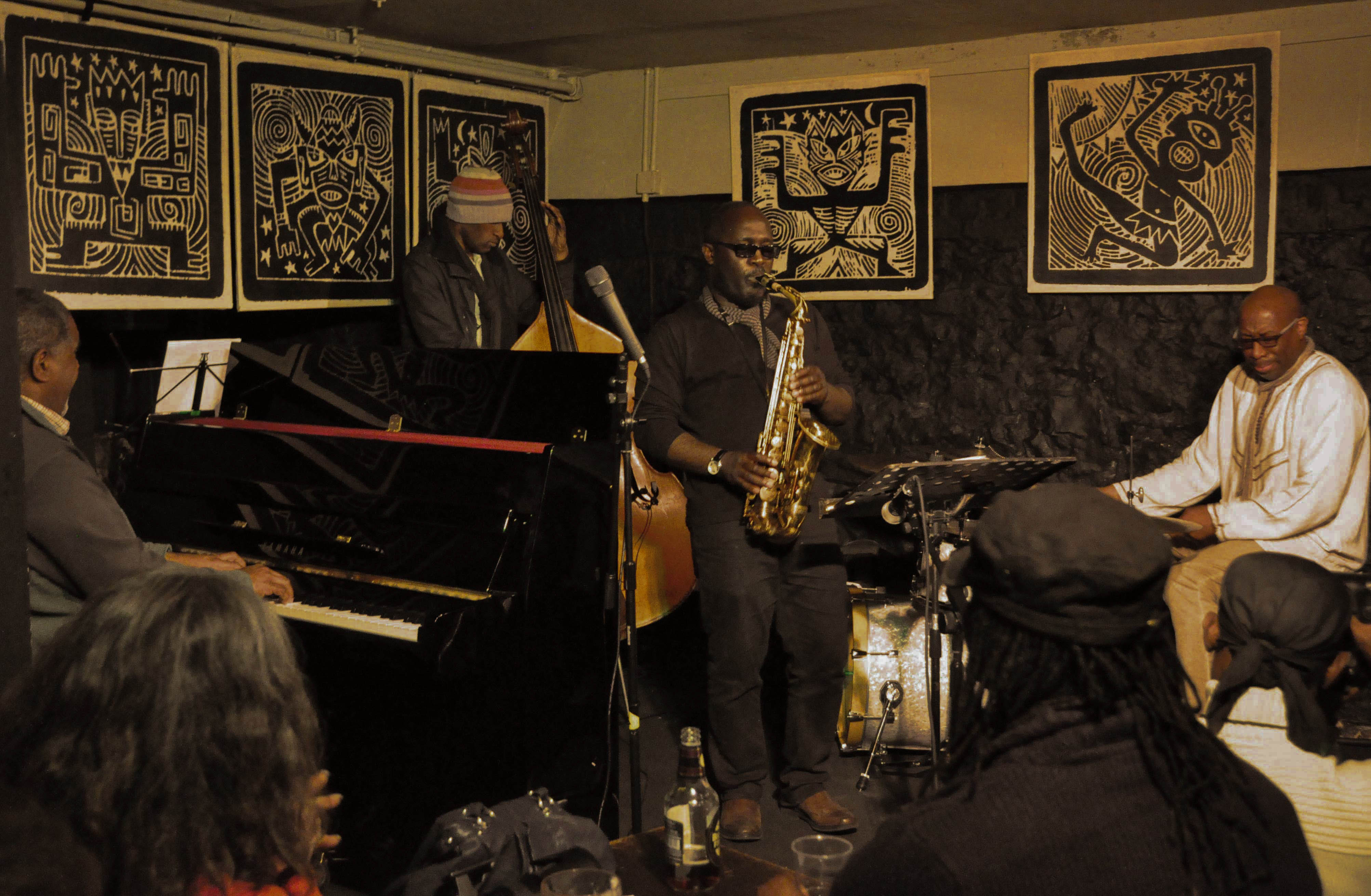 Adrian Reid Quartet at The Crypt