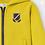 Thumbnail: Mayoral veste sweat zippée jaune