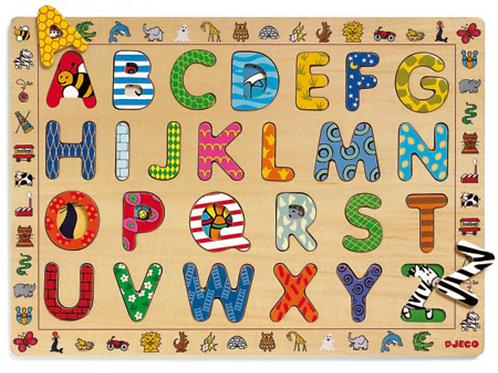 DJECO puzzle éducatif ABC
