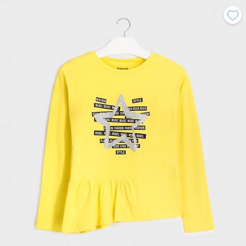 Mayoral t-shirt manche longue étoile