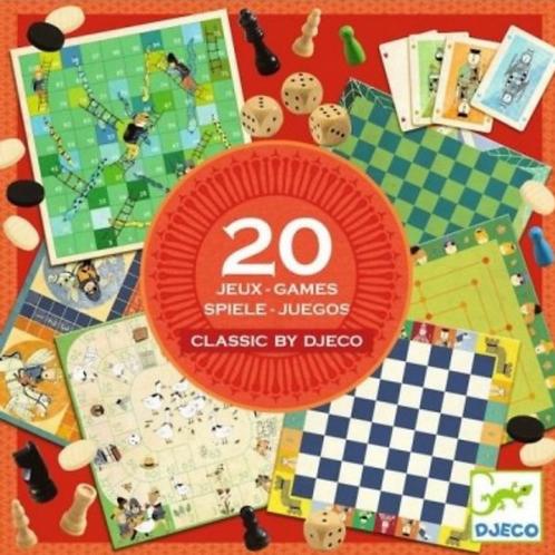 DJECO jeu classique BOX 6 ET +
