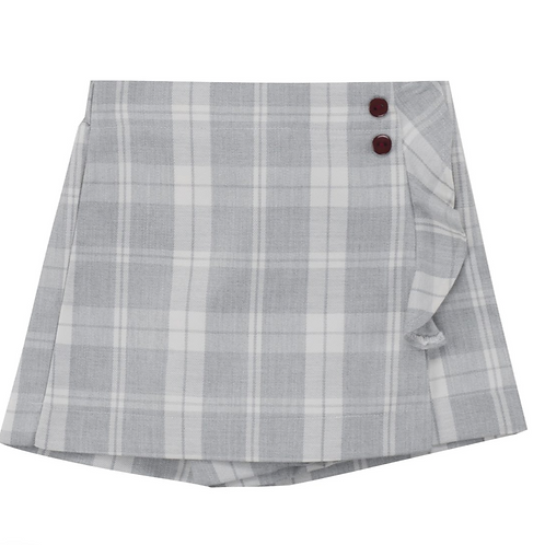 UBS2 jupe short grise