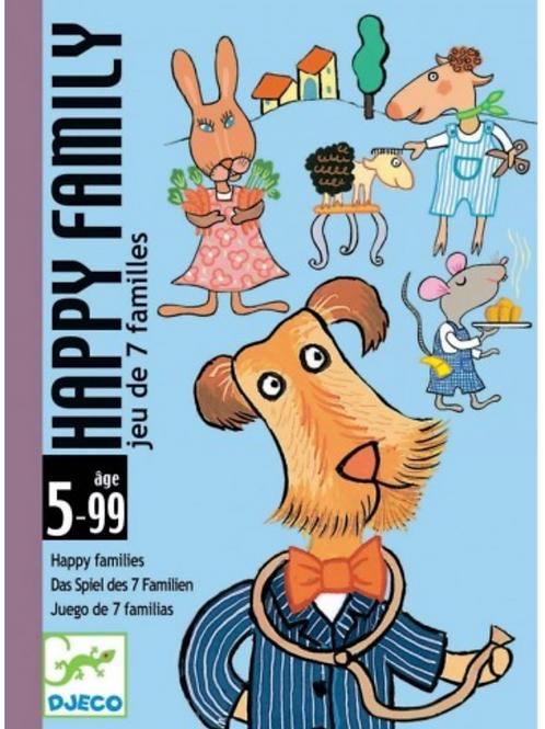 DJECO jeux de carte HAPPY FAMILY