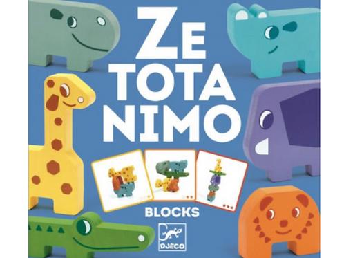 DJECO jeu de construction ZE TOTANIMO