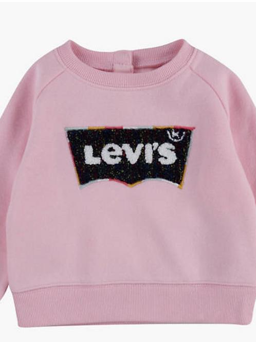 Levi's kids sweat rose