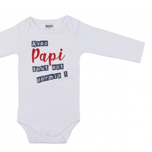 BB&co Body manches longues papi