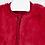 Thumbnail: Mayoral gilet rouge fausse fourrure