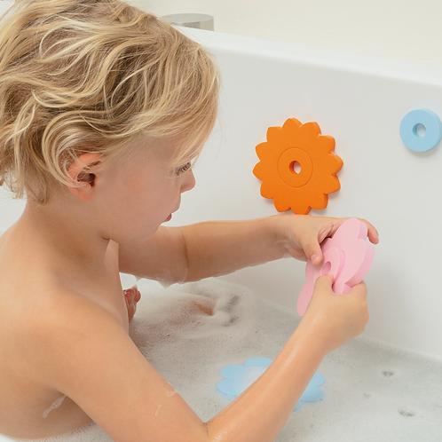 QUUT Puzzle de bain Flower