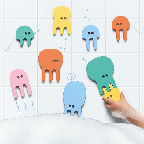 QUUT Puzzle de bain Pieuvres