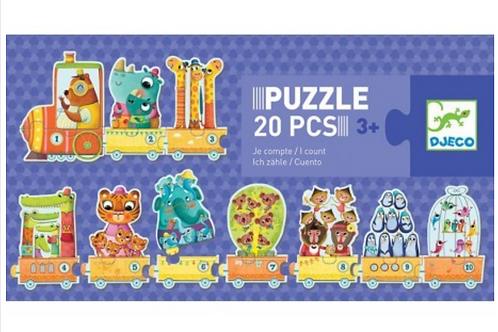 DJECO puzzle trio JE COMPTE