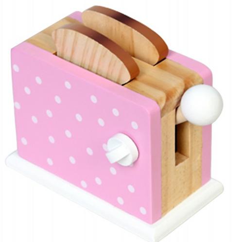 BB&CO Toaster en bois et ses tranches de pain