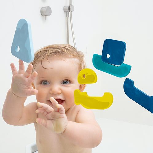 QUUT Puzzle de bain Bateaux