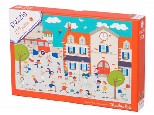 Moulin Roty Puzzle à la récré 150 pièces
