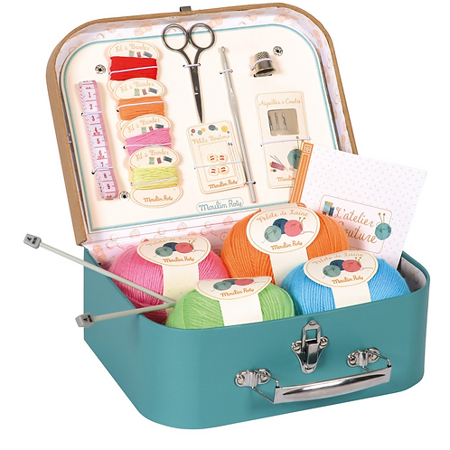 Moulin Roty valise couture jouets d'hier