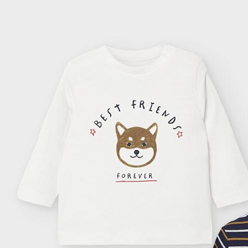 Mayoral t-shirt best friend